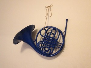 Our Blue French Horn