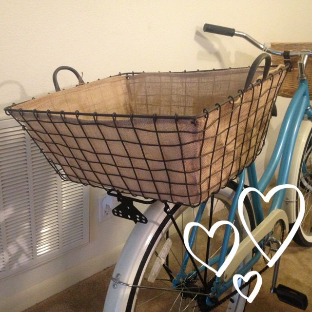 Cruiser Bikes With Rear Baskets I found this basket at