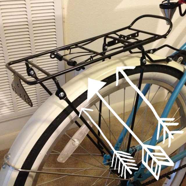 Cruiser Bikes With Rear Baskets Added this rear rack so I