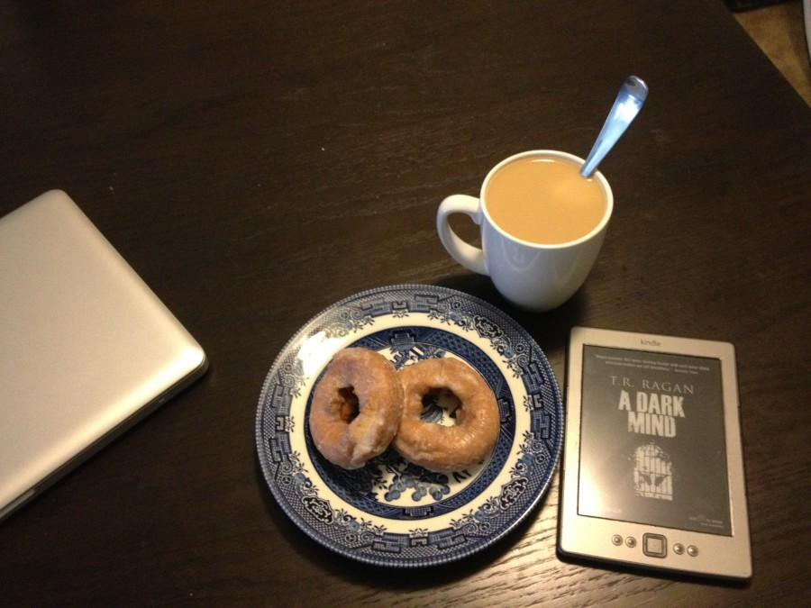 Sometimes all you really need is a horribly unhealthy breakfast, a big mug of coffee and a great book. Sometime that's enough to completely change your outlook.